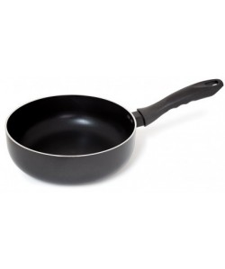 Sauteuse Ø24cm AA  alumimium noir