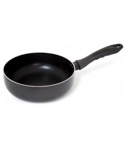 Sauteuse Ø24cm AA  aluminium noir