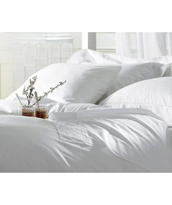 Housse de Couette blanche 240x260cm