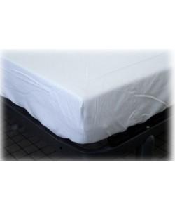 Drap housse 90x190cm coton blanc