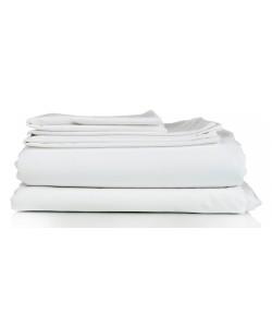 Drap Plat 240x300cm coton blanc