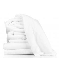 Serviette de Toilette éponge 50x90cm blanc