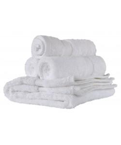 Drap de bain éponge 100x150cm blanc