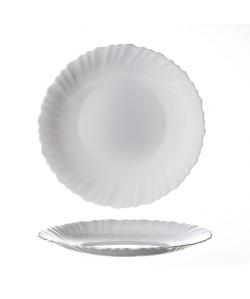 Assiette plate ø23cm Feston arcopal