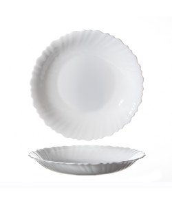 Assiette creuse ø21cm Feston arcopal