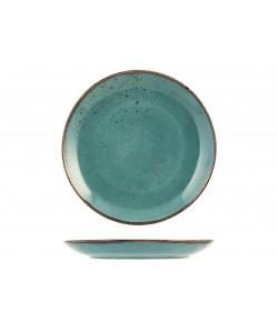 Assiette Plate ø27cm Reactive bleu