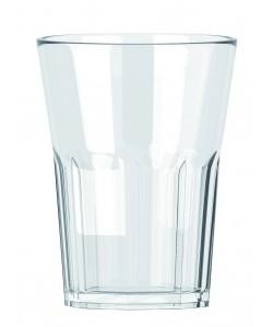 Verre S.A.N (plastique) 33cl empilable