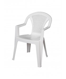 Fauteuil monobloc Standard Blanc