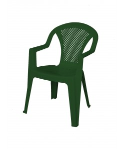 Fauteuil monobloc Standard Vert