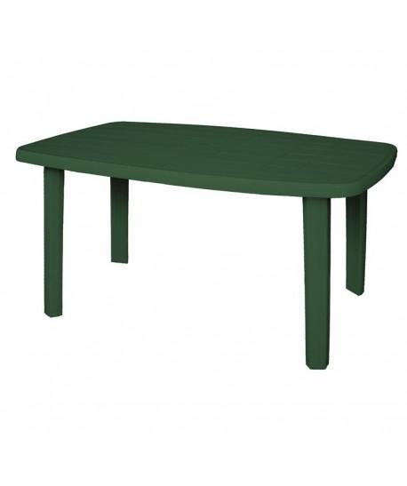 Table Standard Verte 140x80 résine de synthèse