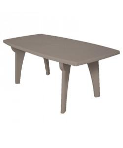 Table Standard Taupe 180x90 résine de synthèse