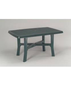 Table Rodano Verte 138x88cm résine de synthèse