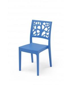 Chaise Maori Bleu Azur
