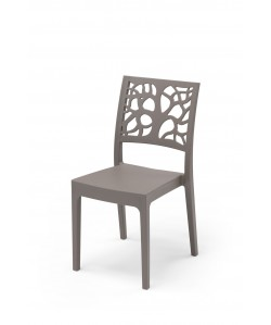 Chaise Maori Taupe