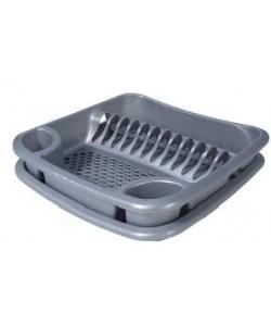 Egouttoir à vaisselle avec plateau