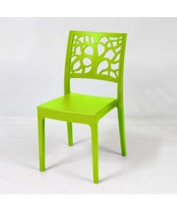 Chaise Maori Vert Anis