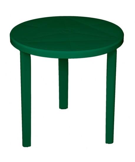 Table Ø70cm Milano vert résine de synthèse