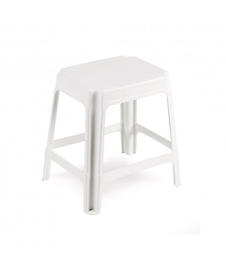Tabouret empilable Univer Blanc