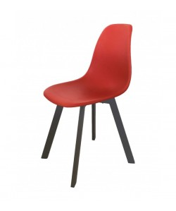Chaise Eva Rouge