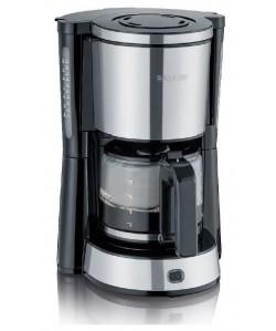 Cafetière électrique 10 Tasses, 1000W inox haute qualité