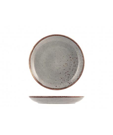 Assiette Dessert ø20.5cm Reactive gris taupe