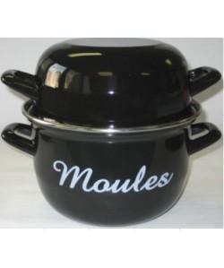 Marmite à Moules Ø18cm Noir