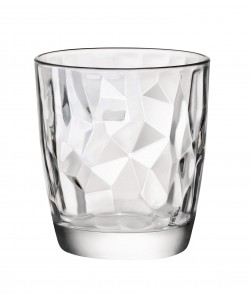 Verre gobelet Diamond forme basse 30cl transparent