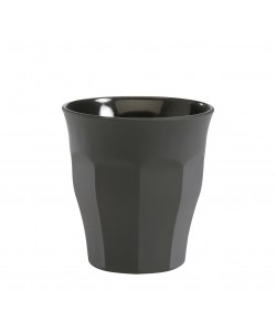 Tasse gobelet Picardie soft touch 9cl Gris.