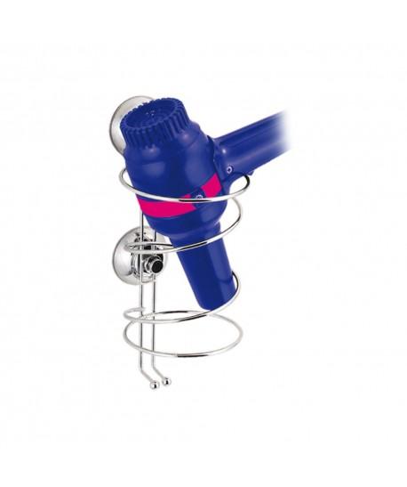 Porte sèche cheveux avec ventouses