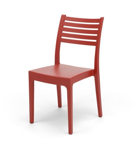 Chaise Olympia Rouge