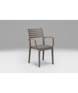 Fauteuil Olympia Taupe