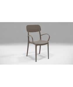 Fauteuil Calipso Taupe
