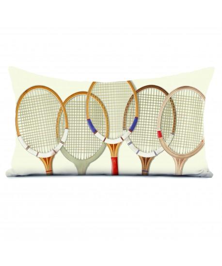 Coussin déco 40x68 Tennis Vintage