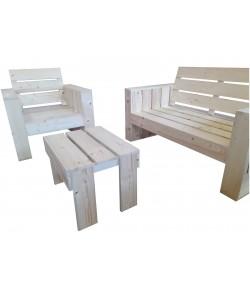 Table basse pour Newport ou Cap Cod bois non teinté