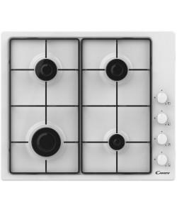Table de cuisson 4 feux gaz blanche