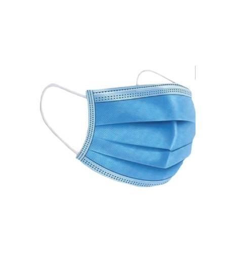 Masque de protection à usage unique, 3 plis (en carton 50)