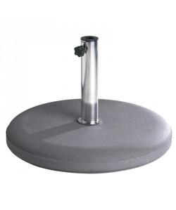 Pied de parasol 40Kgs béton, pour diam de 25 à 55mm