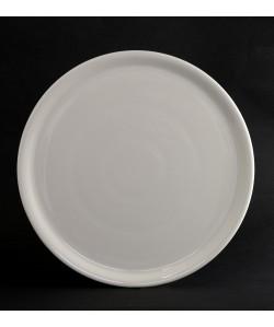 Assiette Pizza Ø31cm porcelaine blanc Napoli