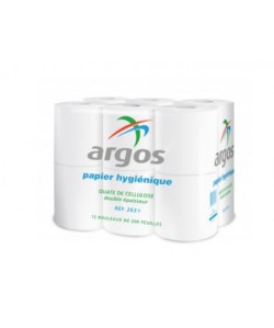 Rouleau Papier hygiénique blanc (paquet de 12)