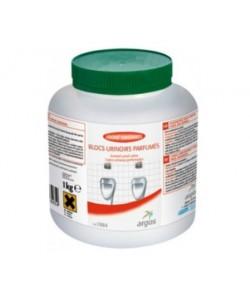Blocs nettoyants et désodorisants pour les urinoirs 30 cubes (boite de 1KG)