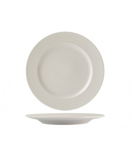 Assiette plate COTTAGE Ø27cm Crème