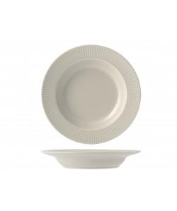 Assiette creuse COTTAGE Ø23cm Crème