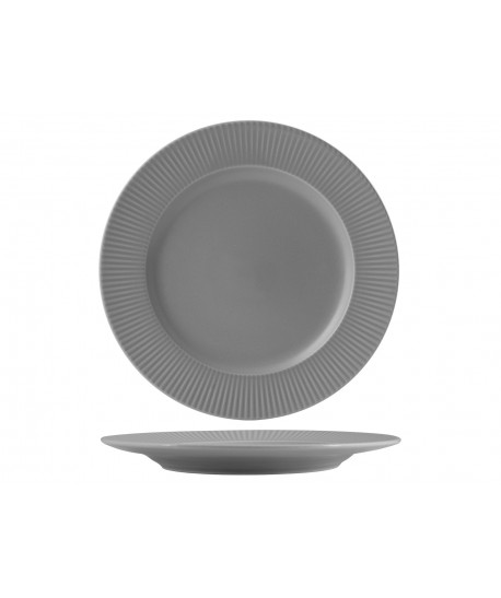 Assiette plate COTTAGE Ø27cm Galet