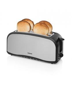 Grille Pain élect. tous pains 1100W noir/aluminium