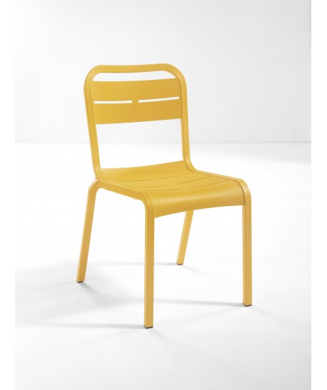 Chaise Cannes Jaune