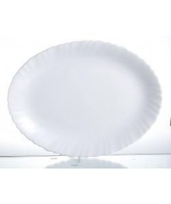 Plat ovale 33cm Feston arcopal