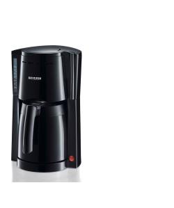 Cafetière électrique pot isotherme 1L 800W Noir