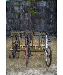 Support 5 à 10 Vélos en bois Bicicletta