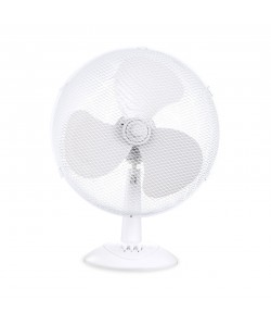 Ventilateur de table Ø30cm 2 positions, 3 vitesses, 45W